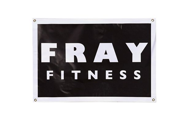 Fray Large Logo Garage Banner