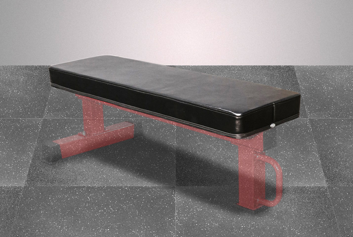 "14"" Wide Pad for FB-02 Competition Flat Bench"