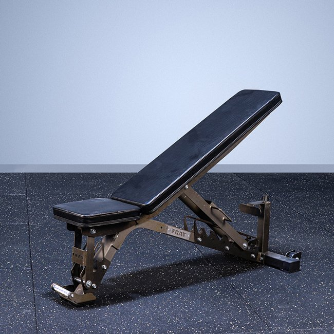 FAB-01E Incline to Flat Adjustable Bench
