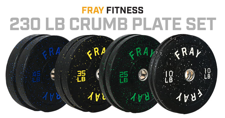 Fray Crumb Rubber Bumper Plate Set