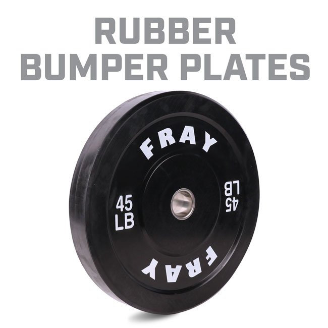 Fray Rubber Bumper Plate