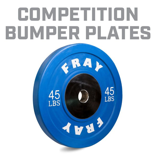Fray Competition Bumper Plates