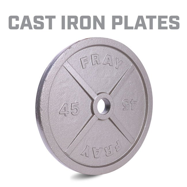 Fray Cast Iron Plate