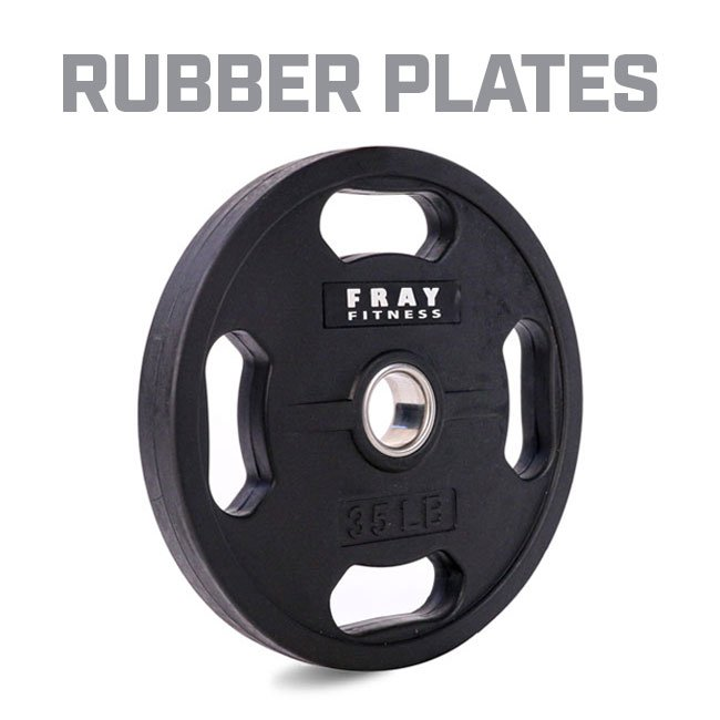 Olympic Rubber Coated Iron Plate