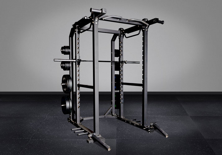FHD1 Power Rack w/ Dual Landmines